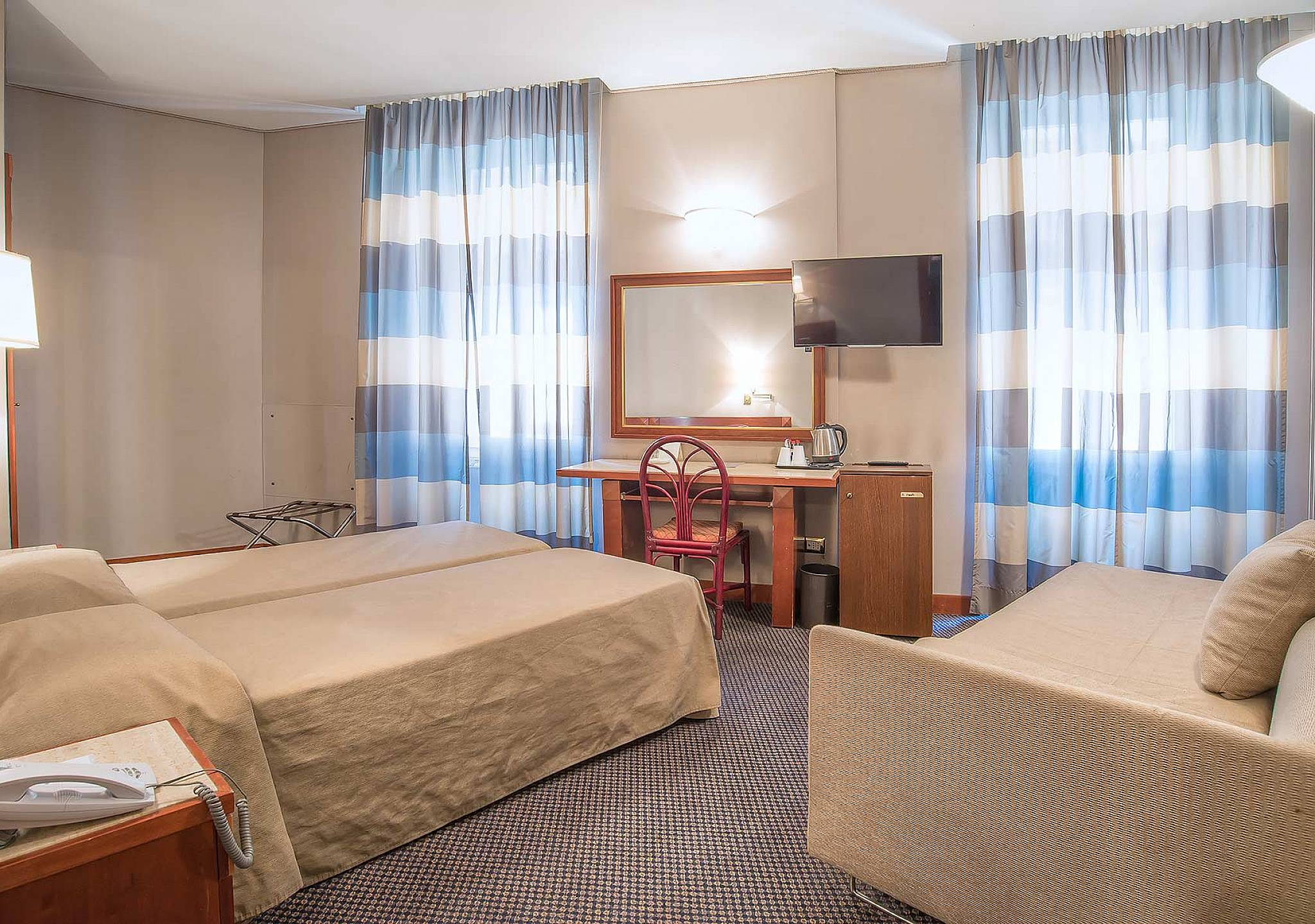 Privacy Curtain For Bedroom Hotel Accademia 3 Star Hotel Rome City Center Standard Room
