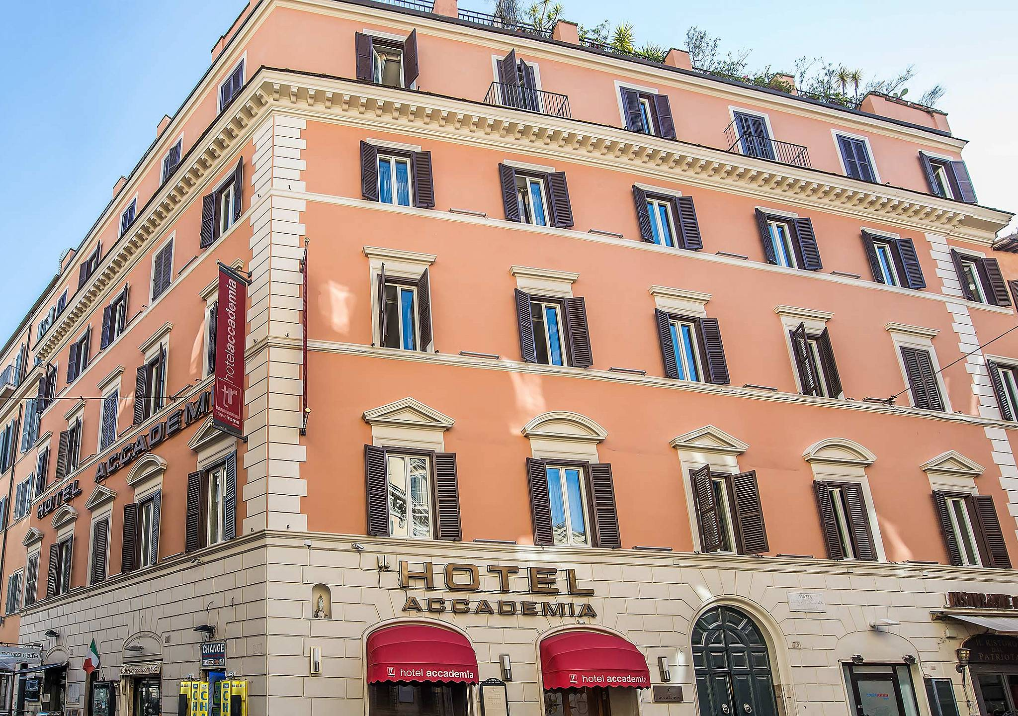 Hotel Accademia 3 Star Hotel Rome City Center Official